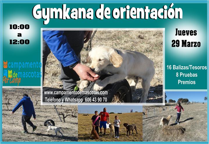 GYMKANA DE ORIENTACIÓN 29 de marzo