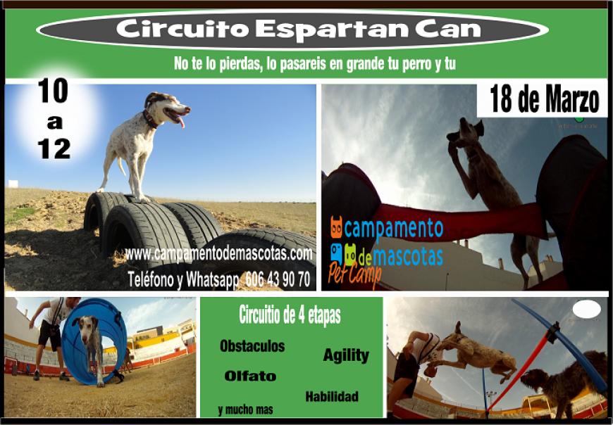"""Circuito """"Espartan can"""" 18 de marzo"""